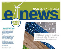 EcoSpex E-Newsletter 2011