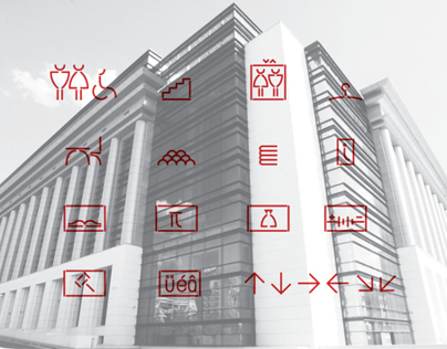 WAYFINDING SYSTEM / BUCHAREST NATIONAL LIBRARY