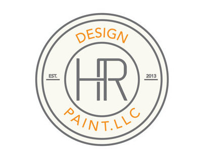 LOGO CONCEPT HR DESIGN PAINT LLC