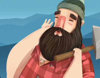 Lumberjack Illustration