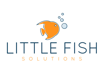 little fish, unused concept, for sale.