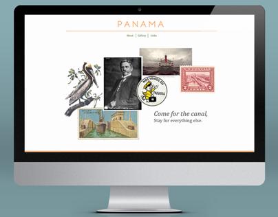 Panama Travel Website