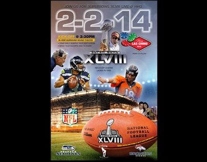 Super Bowl XLViii - Poster Design