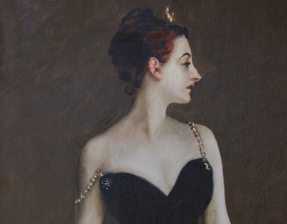 Portrait of Madame X after Sargent