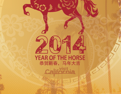 Year of The Horse Digital Cards