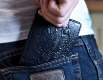 "Jthree vs. AnyForty ""Crime is Money"" Wallet"
