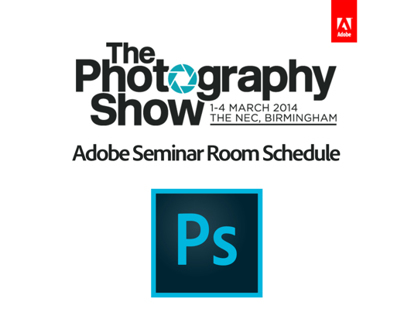 Photography Show 2014 Photoshop Studio Schedule