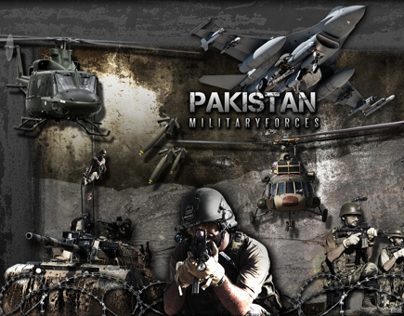 Designed Pakistan Military Promotion Posters