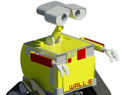 WALL-E Revit Family
