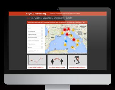 STOP FEMMINICIDIO - Data Journalism web project