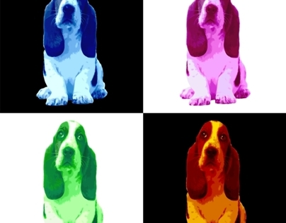 Basset Hound Puppy 4 Colors Oh my Dog Project