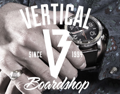 Vertical Boardshop Logo