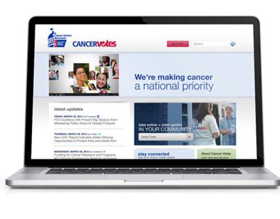 CancerVotes Website