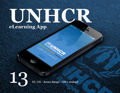 UNHCR Learn & Connect iOS + Android App ~ Equeo