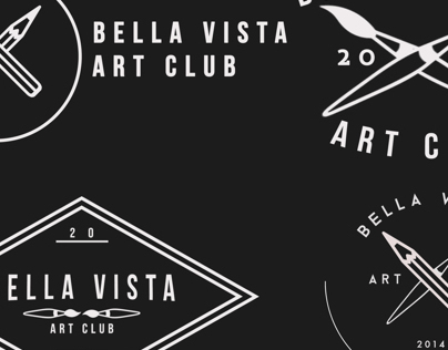 Bella Vista High School Art Club Logos 2014