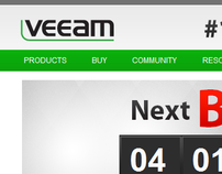 Veeam corporate website redesign