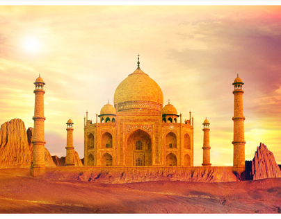 The Desert Taj