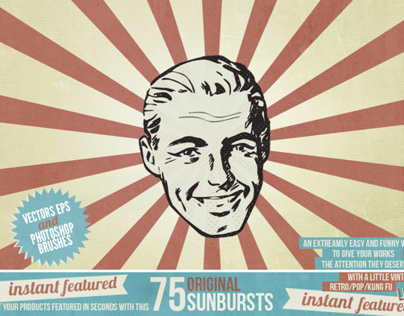 Instant Featured - 75 Sunbursts
