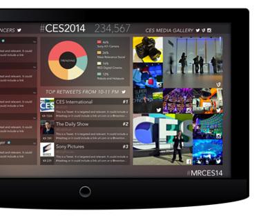 CES 2014 Social Visualization
