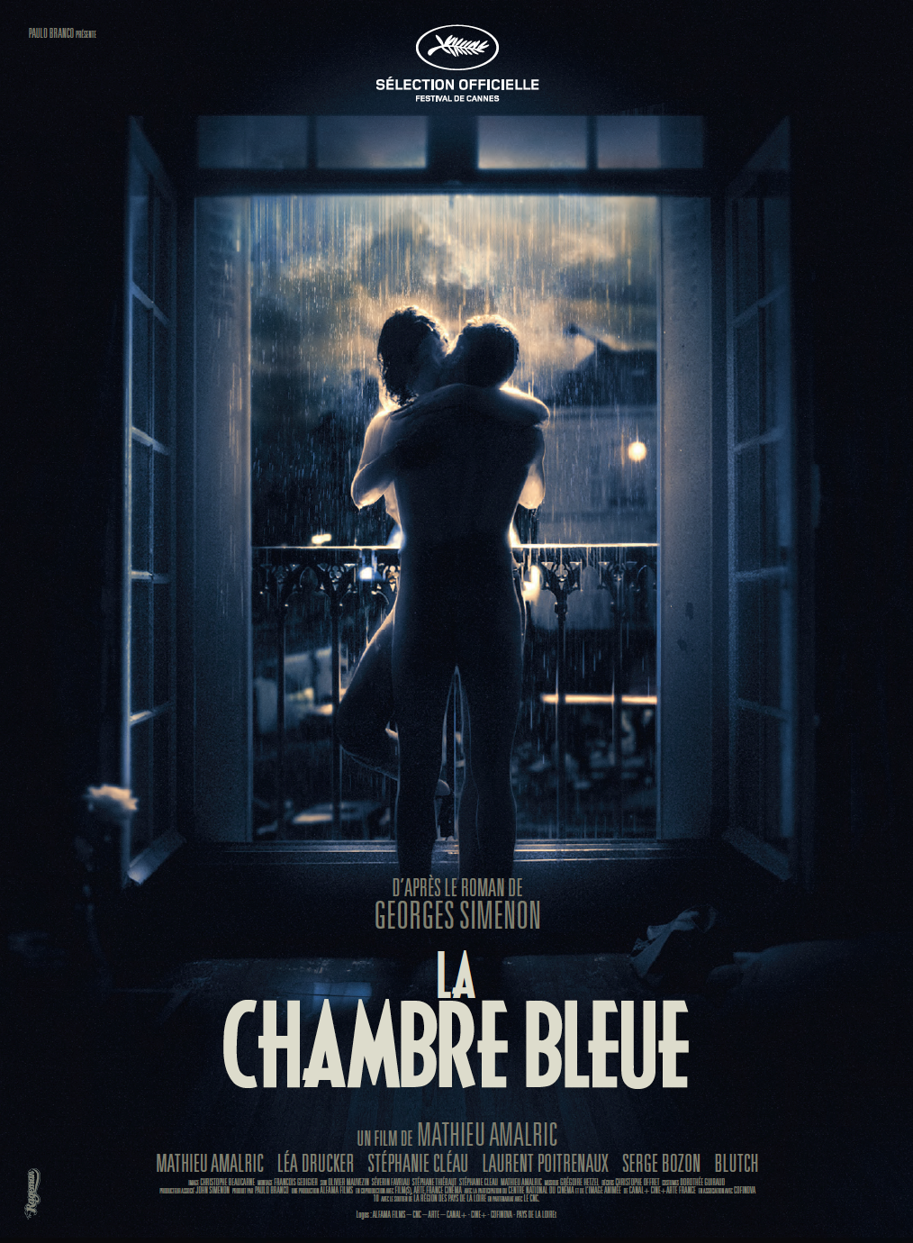 LA CHAMBRE BLEUE - POSTER