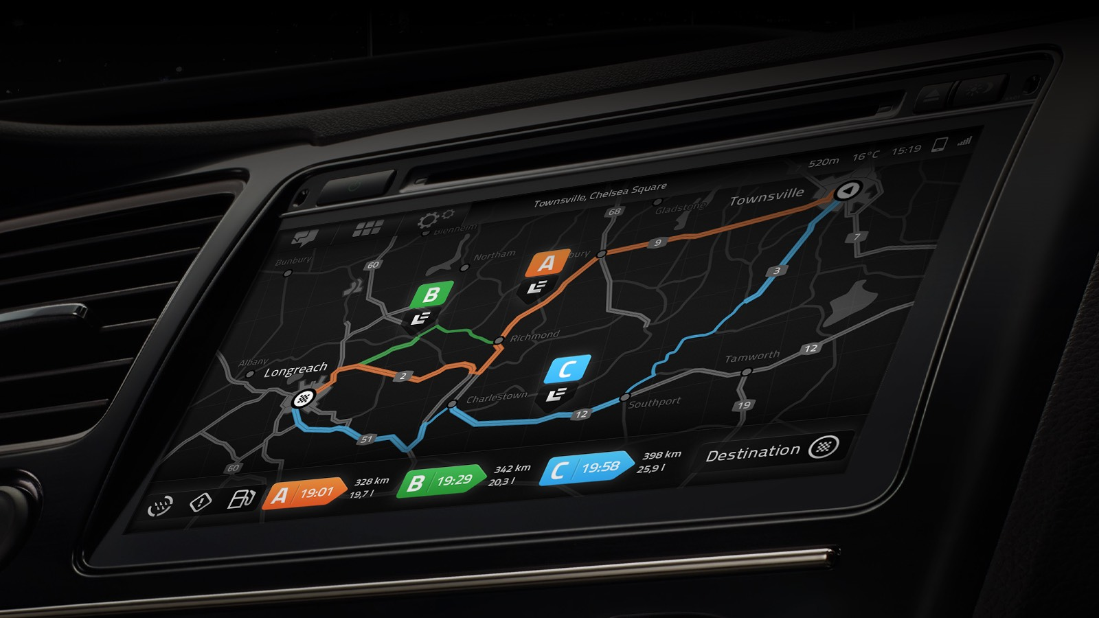 Automotive User Interface Concept