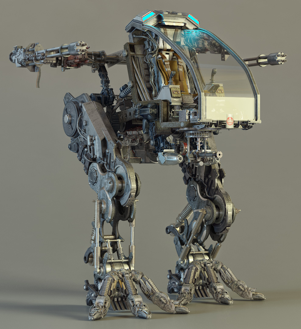 Exposed Mech Project