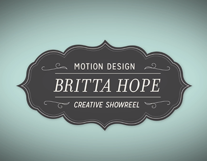 2013 Motion Graphics Showreel