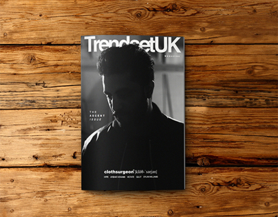 TrendsetUK Magazine - Issue II *3D Cover*