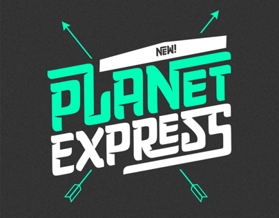 Planet Express - Available on MyFonts 30%o off