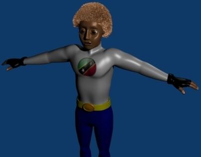 Blender 3D Character Model