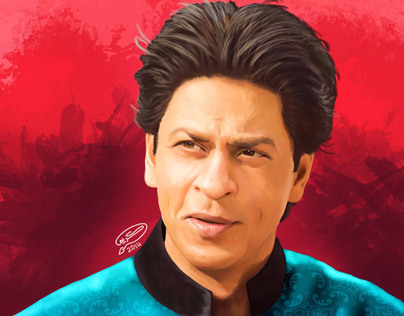 Shah Rukh Khan | Digital Painting