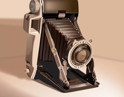 Kodak camera illustration