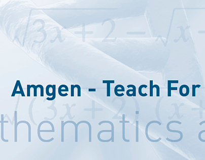 Amgen | TFA Math & Science Summit