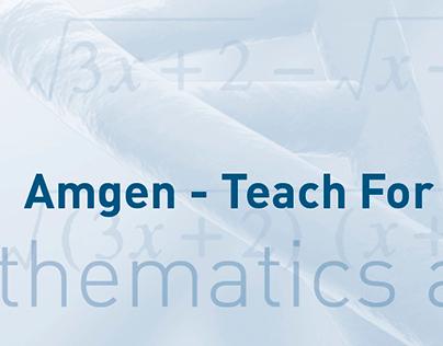 Amgen   TFA Math & Science Summit