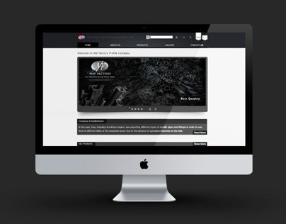 Maf Factory Website