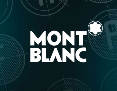 The Beauty Of A Second Typeface for Mont Blanc
