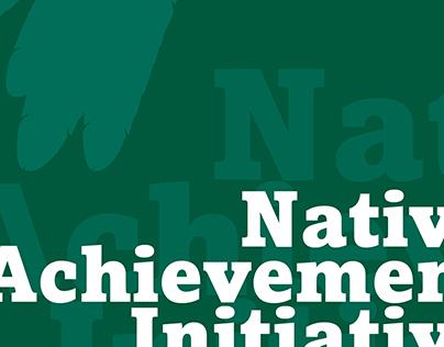 Native Achievement   branding and brochure