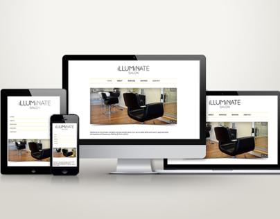 Illuminate Salon Website