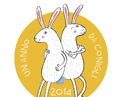 2014 calendar |  a year of rabbits!