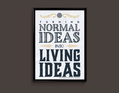 Living Ideas Poster Series