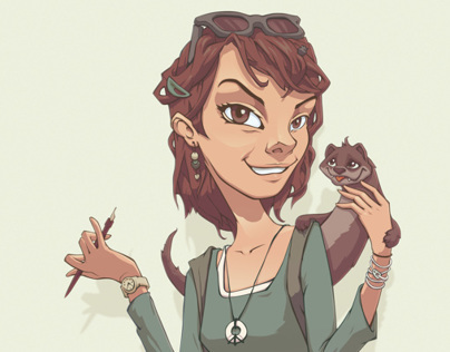 Portrait of Radimira