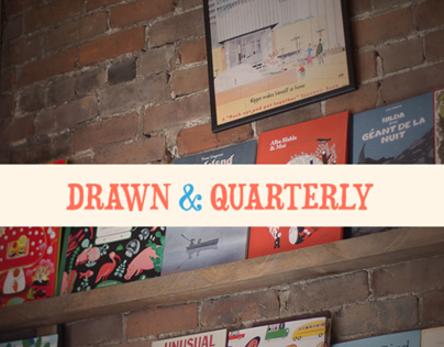 Drawn & Quarterly | Website redesign