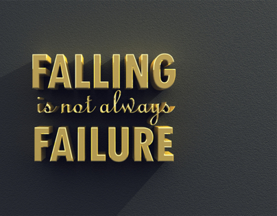 FALLING is not always FAILURE