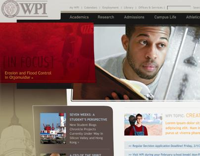 Worcester Polytechnic Institute (WPI) Website Redesign