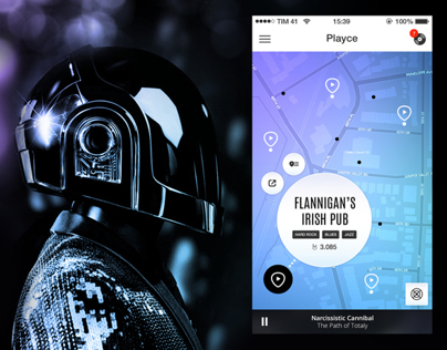 Playce - App Design