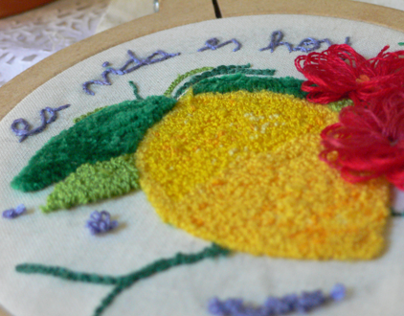 LEMON (Magic Needle Embroidery)