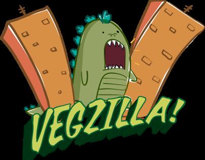 Vegzilla Clothing Website & Branding