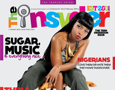 More Insyder Magazine layout and design