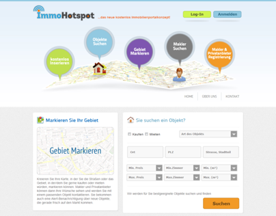 Immohotspot Germany Designed/Developed by iLead Digital