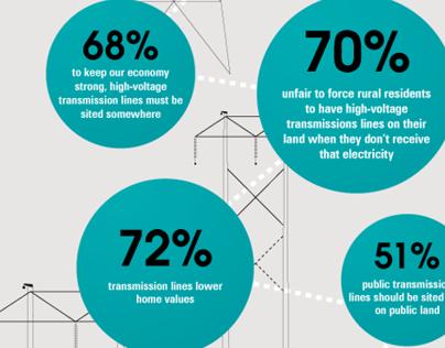 Washington Power Line Survey Infographic